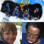 """This roller coaster photo will haunt my son forever. (His normal face for reference)"" http://t.co/0yE4yAFQJe"