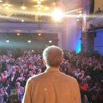 Brian Eno has backed him, but Jeremy Corbyn got the rockstar response tonight #jeremy4leader http://t.co/UxFAs1r5ZD http://t.co/uq2pgWIjAa