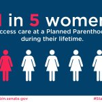 1 in 5 women will access #PlannedParenthood services in their lifetime #StandWithPP http://t.co/gEpwaVSDSF