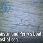 NOW Austin and Perrys boat lost at sea @CBS12 @FindAandP #FindAandP http://t.co/jg8vWzIsT1