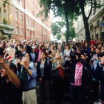 The unelectable Jeremy Corbyn seems to have attracted 4-5 thousand people in Camden tonight. http://t.co/PQ3F4fcmFO