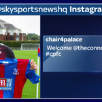 SOCIAL: @CPFC chairman @CEO4TAG has welcomed the clubs new signing, @ConnorWickham10, on Instagram. #SSNHQ http://t.co/VajuW4QyjA