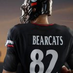 New #Bearcats @uafootball uniforms feature an updated font #Nippert2015 #ARMOURGRID http://t.co/XT6Io25rMY