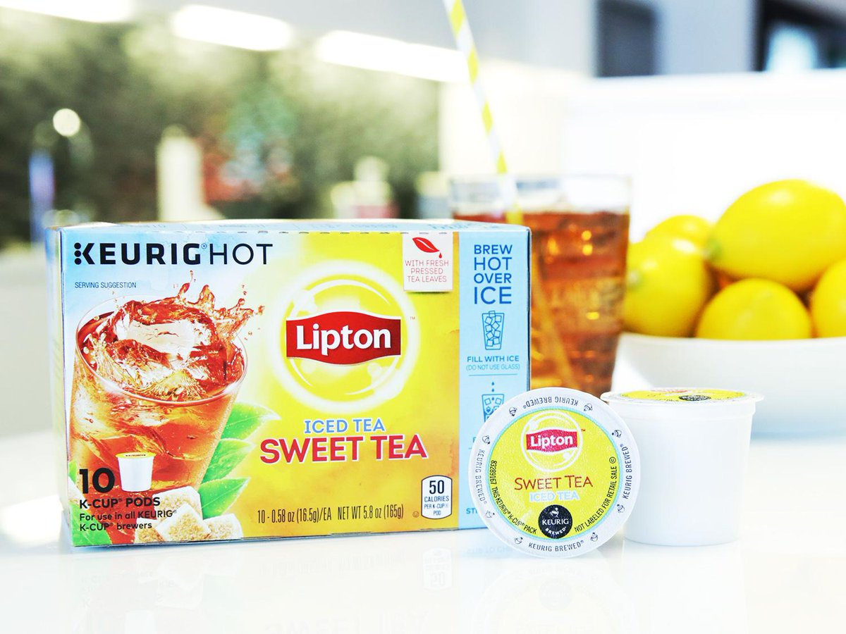 A summer party in seconds w/ @Lipton K-Cup® Pods. RT for a chance to win pods + brewer. http://t.co/qcgVPQ3JiY #ad http://t.co/5IaB5HANHT