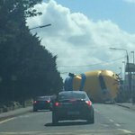 So, a giant Minion is currently wreaking havoc on the streets of Dublin. No, really. http://t.co/YOUrp3P3P8