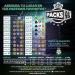 Adquiere tus #PacksAP15 y asegura tu lugar en tus partidos favoritos de @ClubSantos! Hay desde $100 de @TheChampions! http://t.co/wOb37PRGte