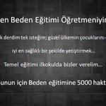 #BedenEğitimine5000Atama @RecepTErdogan  @Cumhurbaskani_  @AvciN  @Ahmet_Davutoglu  @RasimOKutahyali http://t.co/Csc42UxA0W 86