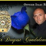 Our deepest condolences to the family, friends & coworkers of Tucson Police Officer Isaac Rosario. http://t.co/thDxB1ALH8