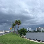 This is how @westpalmbch looks now @PBPostPhoto @pbpost #weather @michelewrightTV http://t.co/QuiD6u74f7