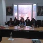 ...Nos reunimos hoy con representantes del Grupo Sany CO, China National Paper-Industry Corp... #ChavezDioLaVidaXVzla http://t.co/G8DByTi3Nn