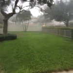 Coming down in buckets. PB Gardens. @CBS12 http://t.co/4fdc7hUHcZ
