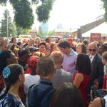 @CTVCalgary #yyc Justin Trudeau leaving after speech to open election campaign. Well over 500 in attendance http://t.co/XTXHK2TuNk