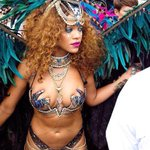 Rihanna at this years Cropover Festival in Barbados ???????????? http://t.co/RQTOoM1SYO