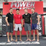 Home is @Powermmafitness w/ my team and the BEST full-time coaches (1st time in my career) led by @aaronsimpson! http://t.co/nnbY7moNMA