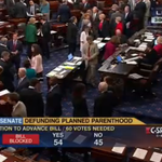 BREAKING: Senate Democrats defeat Republican bill to defund Planned Parenthood. #StandwithPP http://t.co/3QjbXhfRsN