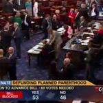 BREAKING: The effort to defund Planned Parenthood FAILS in the Senate. Great news!! #StandwithPP #S1881 http://t.co/CLcJ8N5S0H