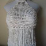 WHITE FRINGE TOP, festival clothing, bohemian clothing, mu… https://t.co/PdDxxBExFE #boho, #crochet #FringeHalterTop http://t.co/wtynW8ofNV
