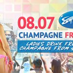 #NationalWatermelonDay: Free Champagne #Friday for Ladies 4-6pm at @SapphireDayClub http://t.co/l0qt1IMzxt #LasVegas http://t.co/Vqr8Xl3VoJ