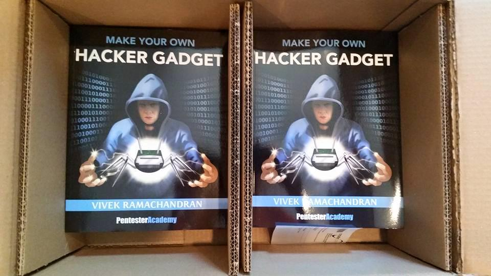 Our viewers, users & customers can pick up a free copy of our Make your own Hacker Gadget book at Blackhat & Defcon! http://t.co/rNnT9ffs7V