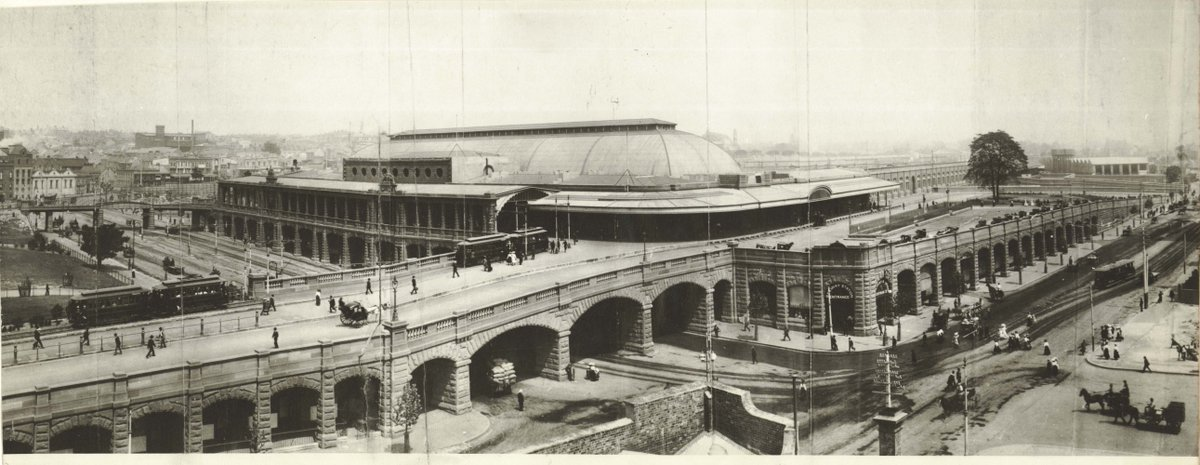 #OnThisDay in 1906 the Central Railway Station in Sydney was officially opened. Images: NRS17420 State Rail photos http://t.co/cRFBAQaJyD