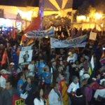#FueraCorreaFuera es l grito del pueblo lojano en #PlazaSan Sebastian #13A #MarchaIndigena @eluniversocom http://t.co/U1VD3qy0iB