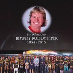Ten-bell Salute for the late Rowdy Roddy Piper. @WWE #RAW #ThankYouRoddy http://t.co/wCR8RDvpx2