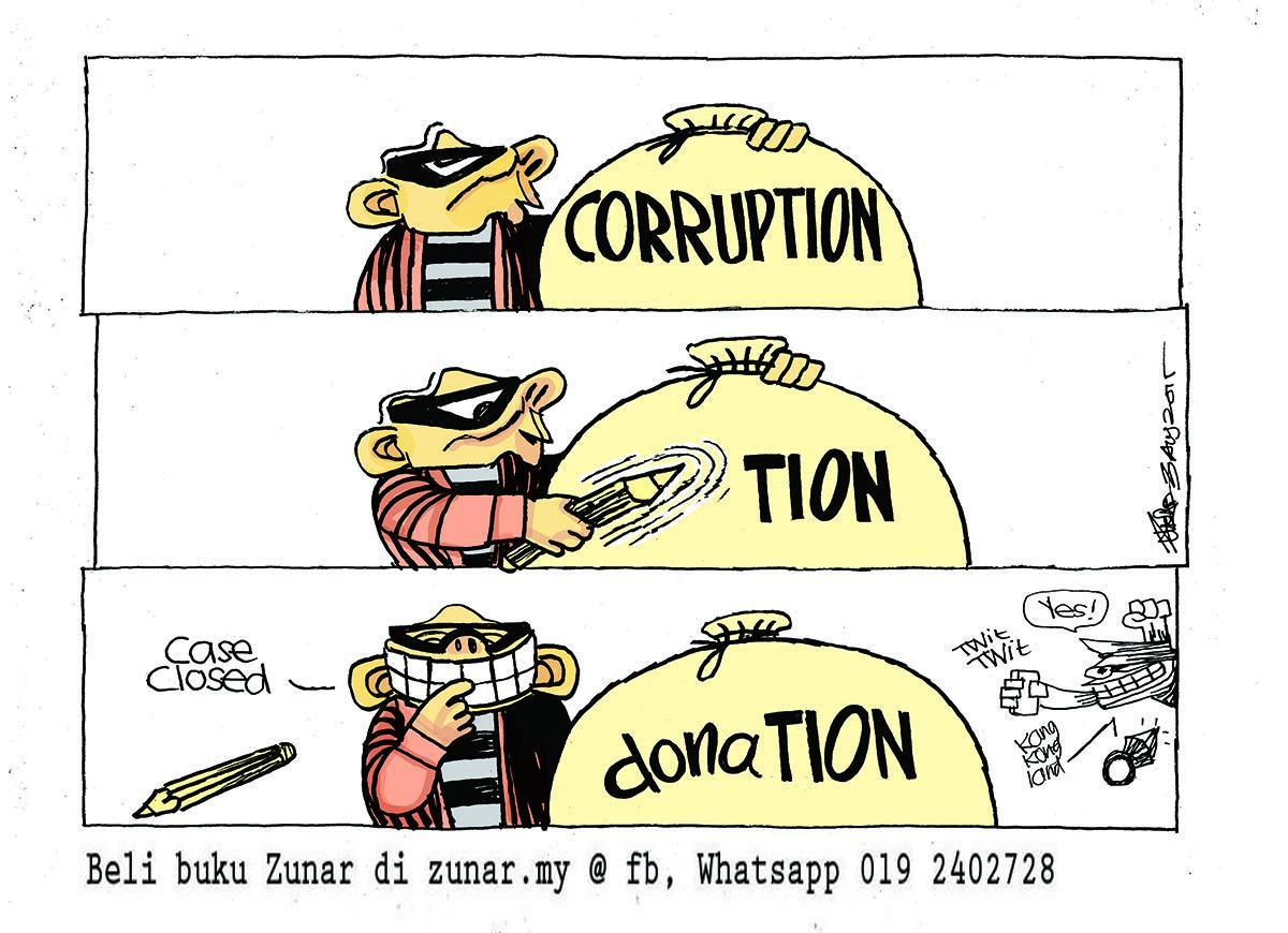 Kartun Zunar: DERMA ala Kangkong Land http://t.co/4kKjdk4G9W