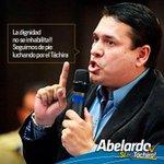 Las amenazas no nos hacen arrodillar, seguimos luchando de frente por el #Táchira y #Venezuela. http://t.co/Uwvkgjjf3S