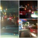 Conductores reportan que tráfico ha sido más intenso que lo habitual en zonas como los alrededores del CC. San Marino http://t.co/PXsuQIjzl5