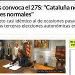 Artur Mas tiene razón. No es normal que el partido del President de Cataluña tenga 15 sedes embargadas por corrupción http://t.co/X0vGsbWsOy
