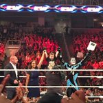 What an honor to sign our newest Superstar, Drax Shadow, AKA Elijah Mainville! #RAW @TripleH @StardustWWE http://t.co/i4for6ODJI