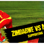 Zimbabwe take on New Zealand! Are you watching the cricket? #SupportingTeamZimbabwe http://t.co/08YJPpASma