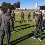 Traditional game of spot before we get underway in Harare #ZIMvNZ ^PT http://t.co/KJgdyoEkJY