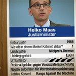 Bald auch nicht im heute-show-Fanshop – die elfte Karte vom Kabinett-Quartett: Heiko Maas #SPD http://t.co/5VcL1rtfgR