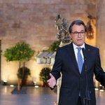 DIRECTO Comienza la comparecencia de Artur Mas en el Palau de la Generalitat http://t.co/iXOype5tkh #27S http://t.co/JZ7bE6xddP