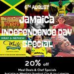 rt RhythmKitchenUK: Come celebrate #Jamaica #independenceday RhythmKitchenUK 6/8 20% #MealDeals & Chef Specials. http://t.co/lmyWRZZKcl
