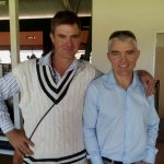 #ZIMvNZ Nice to see former internationals & brothers Brian & Paul Strang watching the cricket #ZimTurnUp http://t.co/bt9wvGgnzD