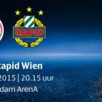 #MATCHDAY! Vanavond #Ajax - Rapid Wien. Op naar de play-offs CL! #UCL #ajarap