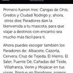 Vergonzoso q @paradores presuma de admitir perros y en #Mojácar me digan q en verano ya no???? cc @_SrPerro @lluvia_rojo http://t.co/yAbCR8U5Qt