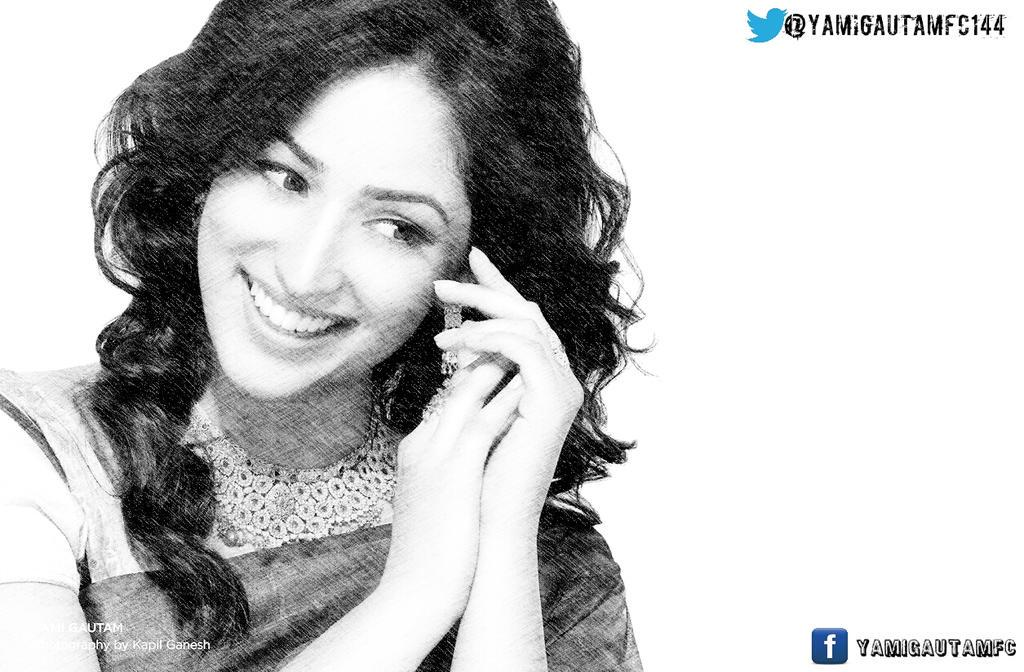 How about this pencil sketch of yamigautam she would love itrt this post