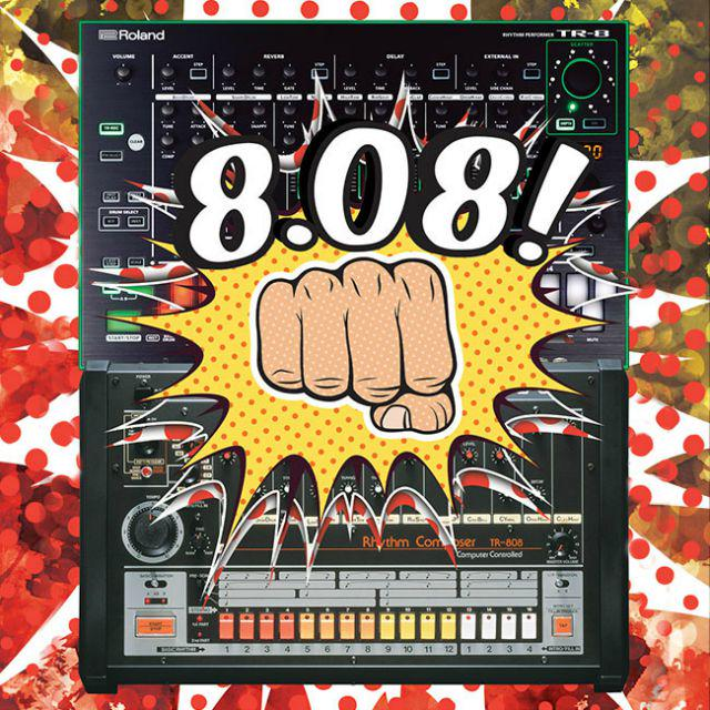 Saturday Is 808 Day: 35th anniversary of the iconic Roland TR-808 drum machine to be… http://t.co/MQOAnVW52C http://t.co/KkKvn7nt3f
