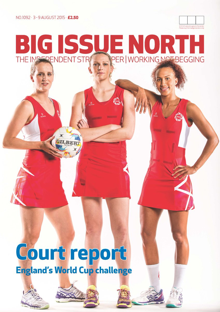 In this week's mag @England_Netball with @traceynev @runlikeforrest @jadeyclarke @Helenhousby1  @thundernetball http://t.co/D2P4pkNN2H
