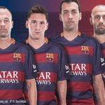 Iniesta, Messi, Busquets i Mascherano són els capitans del @FCBarcelona_cat per aquesta temporada #fotliFCB http://t.co/wtZa8299VM