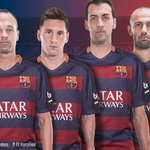 RT @FCBarcelona: Iniesta, Messi, Sergio and Mascherano - the teams four captains for 2015/16 http://t.co/Iln5Jkb9IS http://t.co/CMyYFrYYI5