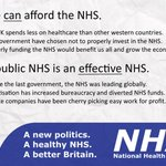 Tory plans for NHS and BBC: 1. Defund 2. They dont work as well as they used to 3. People get angry 4. Privatise http://t.co/2fR8DVkRwA