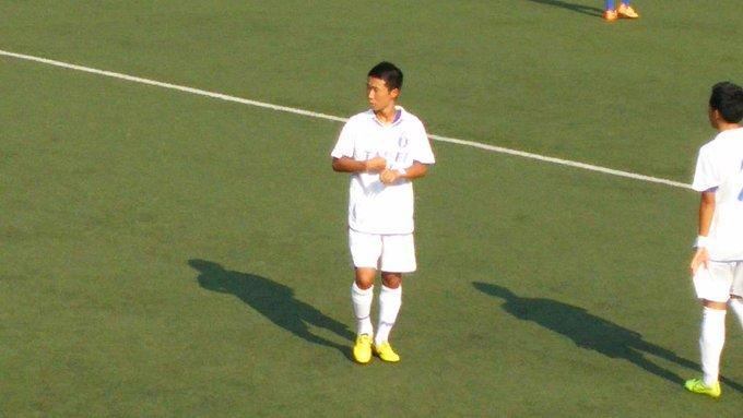 高校サッカー東京都 T2リーグ 試合終了 トリプレッタユース2-0大成高  大成高校の中盤6番。攻守に鋭い動きが多かった! http://t.co/gkwYuTv2rW