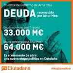 Balance de deuda del Sr. #Mas. #27S #ElCambioSensato http://t.co/b3Pz6F3H0Y