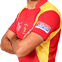 #ZIMvNZ 50 up for @SRazaB24 hes fought a lone battle with wickets falling around him. Zim 152/8 in 38 overs http://t.co/04EcY4vtKx