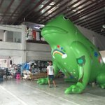 Our 8 metre giant toad will be flying above Bransholme from 10am tomorrow! Full details at http://t.co/1nIykYyca0 http://t.co/Pc7fCIyl90