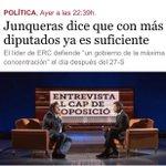 ¿Jefe oposición es quien apoyó a Artur Mas toda la legislatura y ahora encima van juntos en la misma lista? TV3: Jaja http://t.co/AI4SdlN7BR